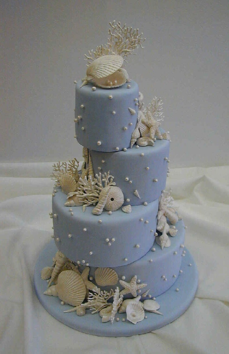 sea-shell-wedding-cake