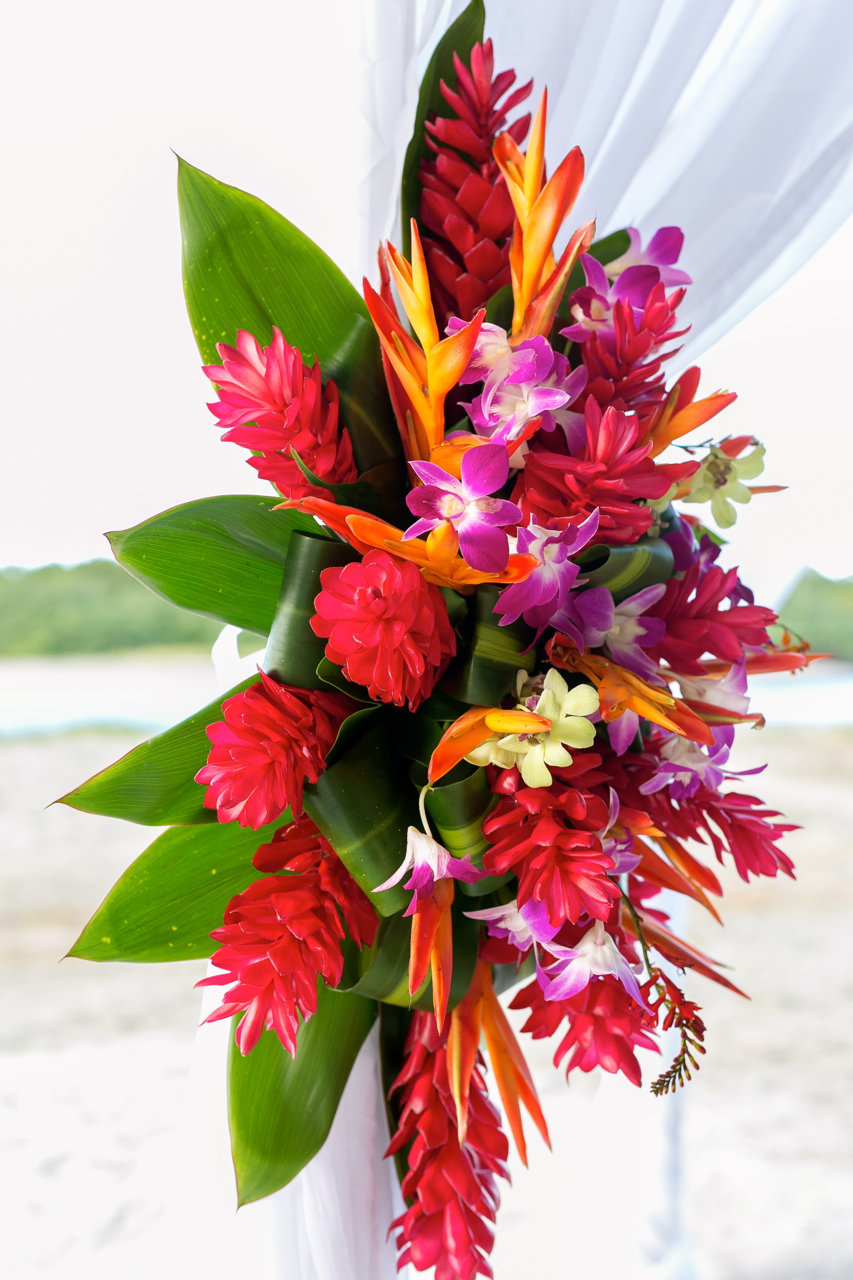 TROPICAL DECOR WEDDING
