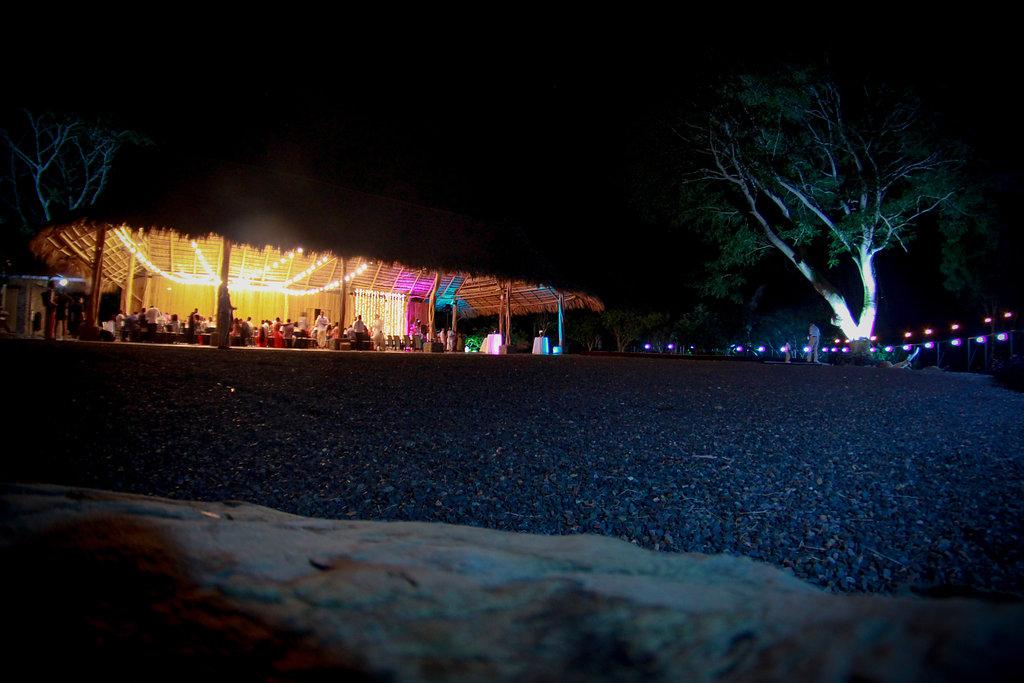 villa-caletas-rancho-at-night