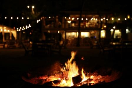 fire-pit-in-front-of-pangas-beach-club-tamarindo