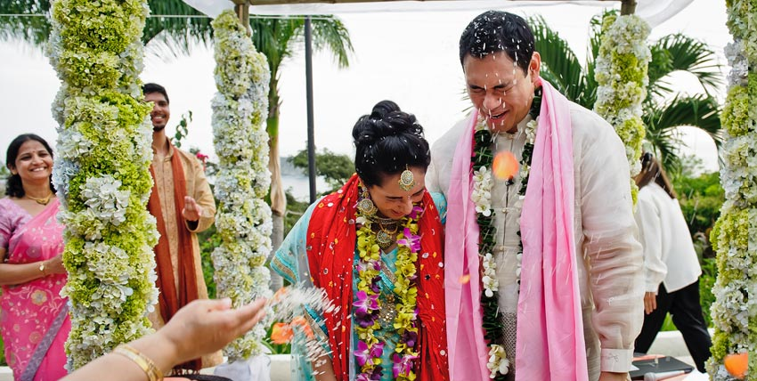Indian Traditional Wedding Ceremony In Costa Rica